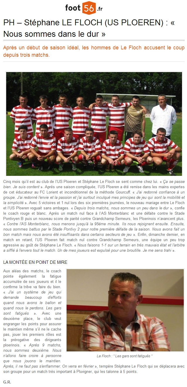 article foot 56 ploeren