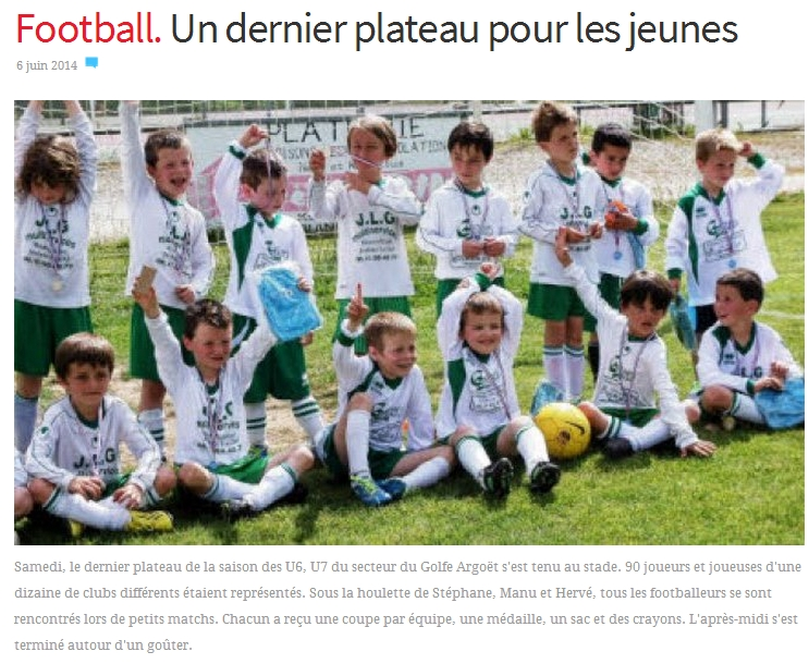 article du 06 juin 2014